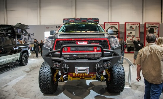 SEMA Tundra Monster Truck