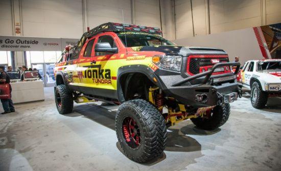 2014 SEMA Tundra Tonka Truck