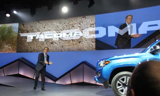 """""""This truck is badass!"""" - Bill Fay, Toyota Group Vice President and General Manager."""