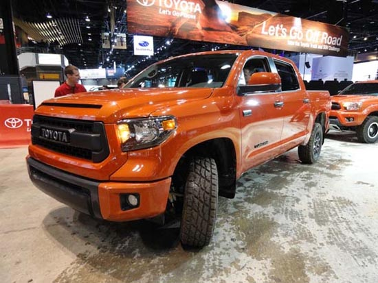 Toyota Tundra 2014 Sales Results