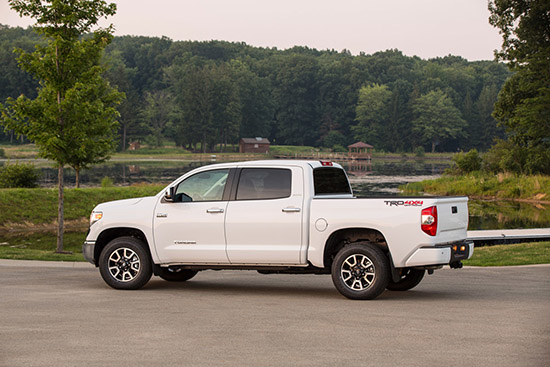 Toyota Tundra Leads Half-Ton Segment in Resale Value