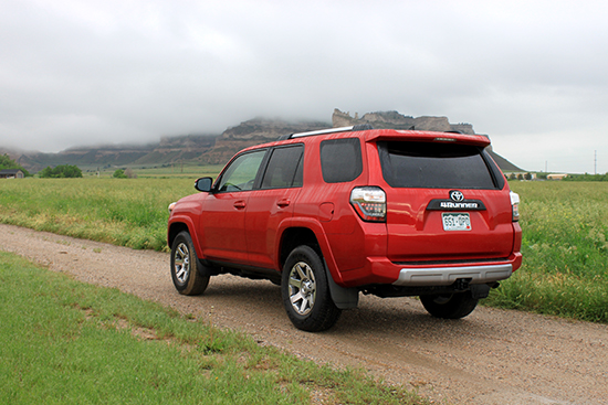 2015 Toyota 4Runner Trail Premium Review - Rear