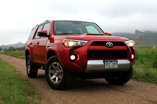 2015 Toyota 4Runner Trail Premium Review - Front