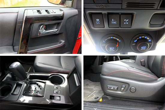 2015 Toyota 4Runner Trail Premium Review - Interior Compilation 2