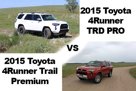 2015 Toyota 4Runner Trail Premium Review - TRD PRO vs. Trail Premium