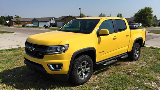 2015 Chevy Colorado Trail Boss Arrives