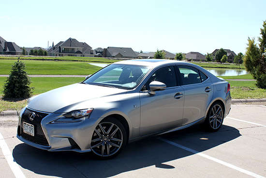 2015 Lexus IS 350 F Sport AWD Review - Wowza