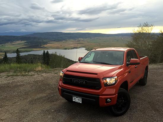 2015 Toyota Tundra TRD Pro Mountain Trip