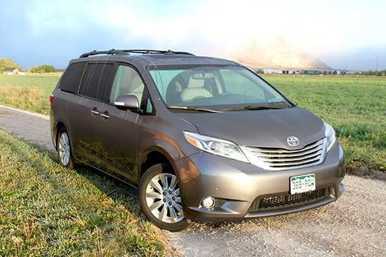 2015 Toyota Sienna Surprises with Versatility and Kid Friendly Access