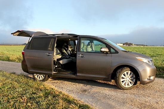 Like most mini-vans, the side doors are the big bonus.
