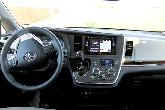Interior dash is well laid out and easy to use. Although, the climate controls could use some updating.