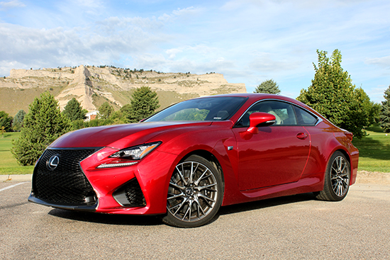 2015 Lexus RC-F Offers Plenty of Wow