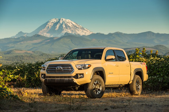 October 2015 Sales Results - Tacoma Up, Tundra Flat