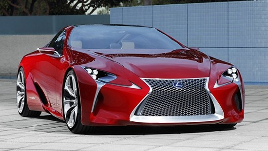 Even truck guys can appreciate the new Lexus LC 500 which is going into production. Maybe, I'll get lucky and get a press loan! (and probably a speeding ticket).