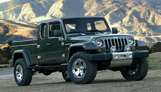 Jeep Plans Pickup with Diesel and Hybrid Powertrains - Big Deal?