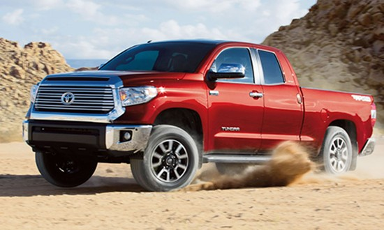 Once again, the Toyota Tundra finished first in J.D. Power's Vehicle Dependability Study.