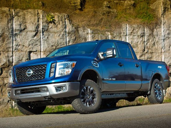 Pricing Announced on Gas Nissan Titan XD - Enough to Sway Tundra Buyers?