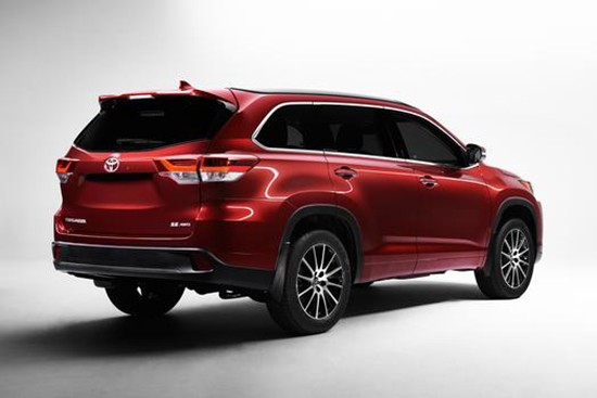 2017 Toyota Highlander Rear