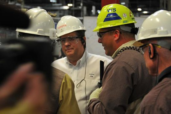 Toyota CEO Jim Lentz Interview