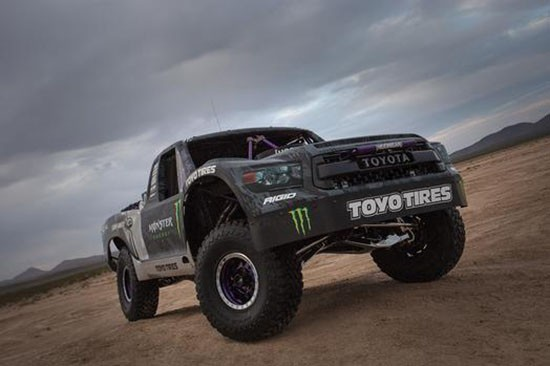Toyota Signs Off-Road Racing Superstar BJ Baldwin