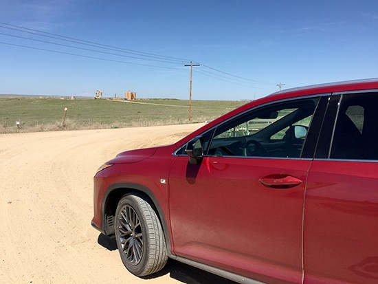 Getting Dirty in a 2016 Lexus RX 350 F-Sport