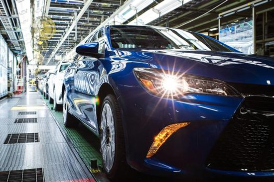 Toyota Camry Retains Most American Made Title From Cars.com
