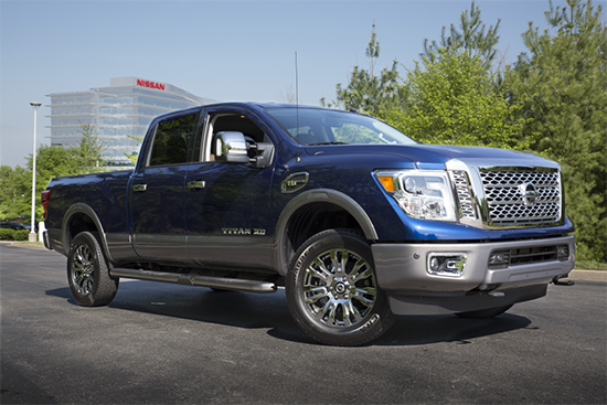 First Drive: 2016 Nissan Titan XD Gas - Just Like a Tundra?