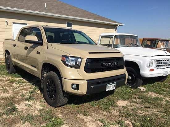 On the Road to Michigan With the International Towed by 2016 Toyota Tundra TRD Pro