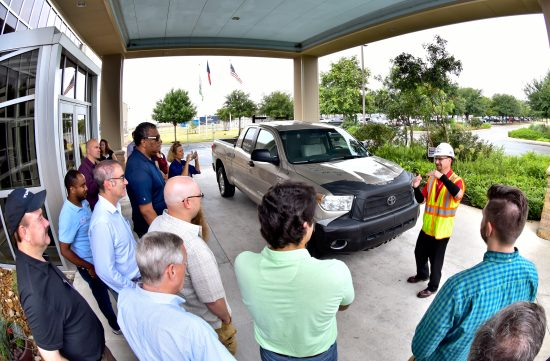 THQ Tours Toyota Motor Manufacturing Texas Plant in San Antonio, Texas