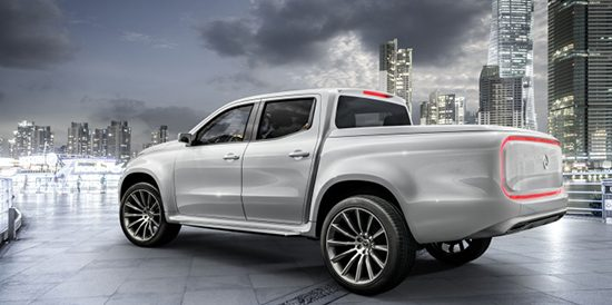 Mercedes-Benz X-Class Concept Pickup Truck Revealed