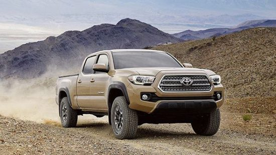 September 2016 Truck Sales - Both Toyota Trucks Up
