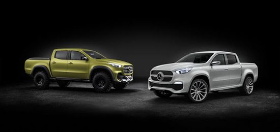 Mercedes-Benz X-Class Concept Pickup Truck Revealed
