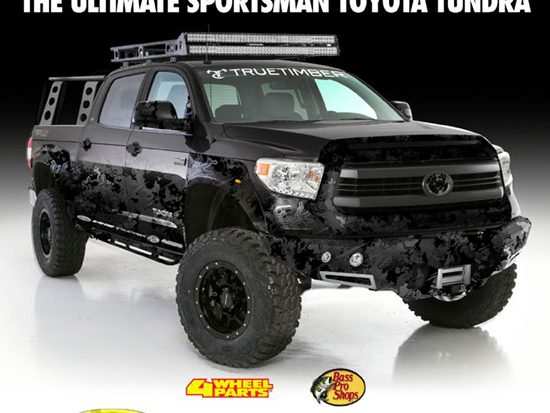 Transamerican Auto Parts Plans Ultimate 2016 Toyota Tundra SEMA On Site Build