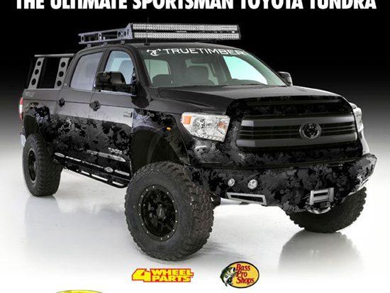 Transamerican Auto Parts Plans Ultimate 2016 Toyota Tundra SEMA On Site Build