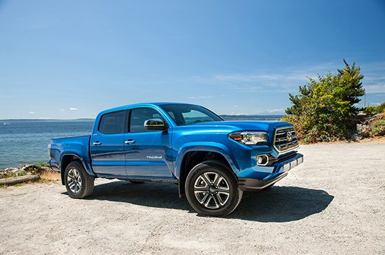 November 2016 Truck Sales - Tundra, Tacoma Post Gains