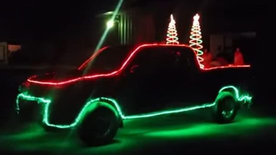 Holy Lights on a 2006 Toyota Tundra